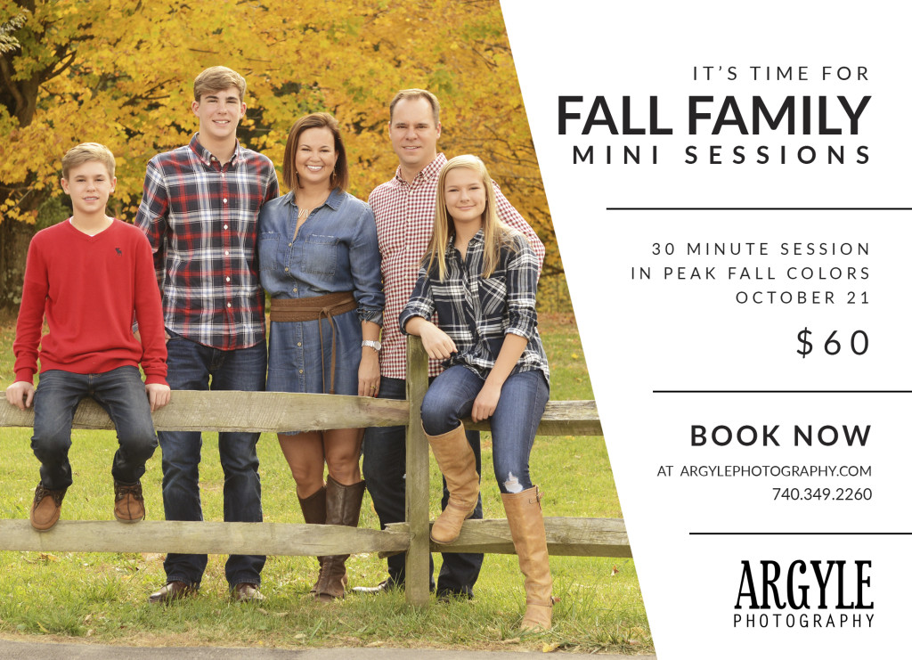 Fall Mini-Sessions 2017