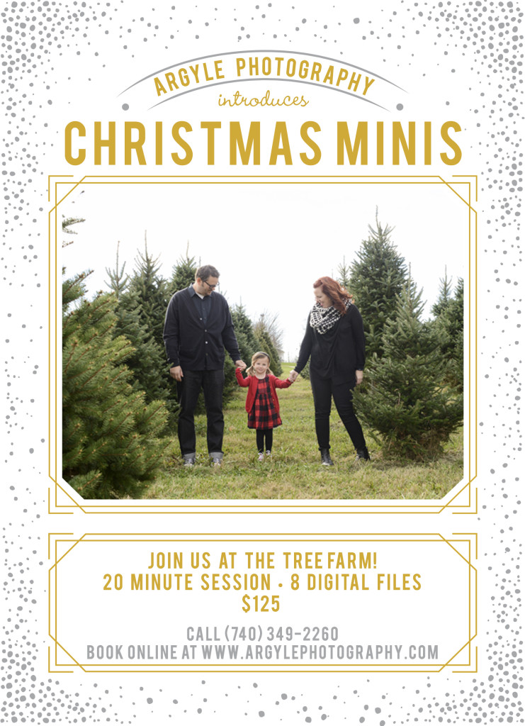 Tree Farm mini session ad 2